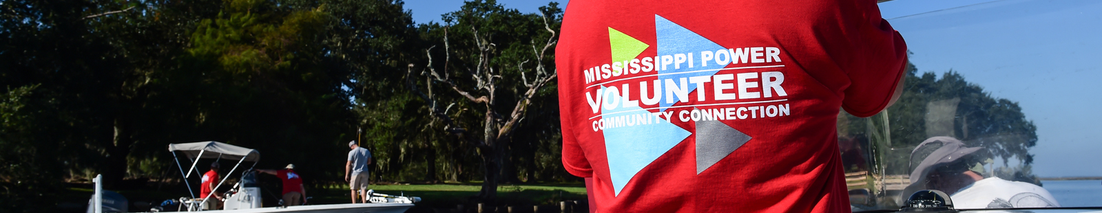 Mississippi Power volunteer